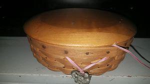Breast cancer longaberger basket for Sale in Decatur, GA