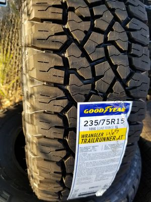 P235/75/15 Set of Goodyear Wrangler for Sale in Corona, CA