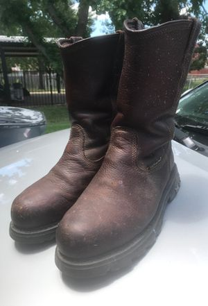 Steel toe work boots Hytest for Sale in Mesquite, TX