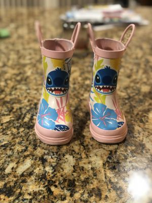 Toddler Girl Disney Stitch Rain Boots -7c for Sale in Rancho Cucamonga, CA