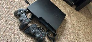 PS3 w 2 controllers for Sale in Saugus, MA