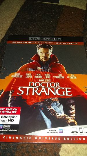 D.S. BRAND NEW SEALED NEVER OPENED 4K MOVIE ASKING ONLY FOR $14.00 for Sale in Phoenix, AZ