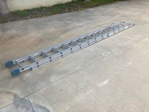 28' Warner Aluminum Extension Ladder $100 SALE PENDING for Sale in Chino Hills, CA