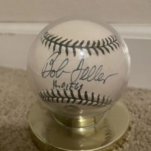100% Authentic Bob Feller Autographed Baseball for Sale in Federal Way, WA