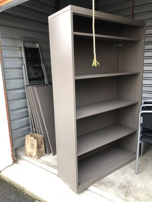 Metal bookshelves for Sale in North Chicago, IL