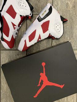 "Nike Air Jordan 6 ""Carmine"" for Sale in Signal Hill,  CA"
