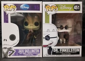 Nightmare before christmas funko pop lot for Sale in Los Angeles, CA