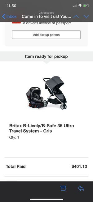 BRITAX B-Lively/B-Safe 35 Ultra Travel System for Sale in Hayward, CA