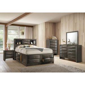 Emily Gray Storageghj Platform Bedroom Set for Sale in Baltimore, MD