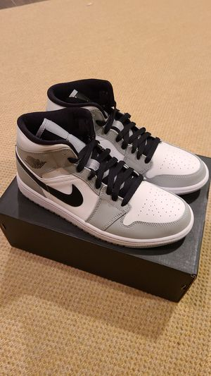 Jordan 1 Mid Smoke Grey size 8.0 and size 8.5 available for Sale in Bethesda, MD