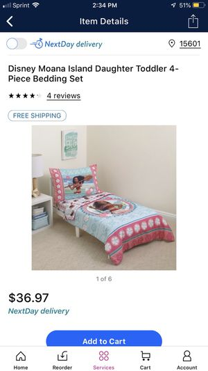 Moana Bed Set for Sale in North Versailles, PA