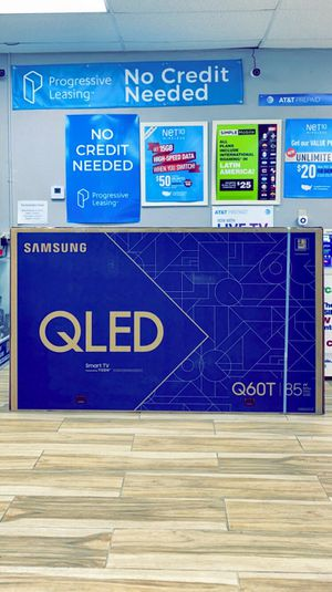 Samsung 85 inch Class - QLED Q60T Series - 4K UHD TV - Smart - LED - with HDR! Brand New in Box! One Year Warranty! for Sale in Arlington, TX