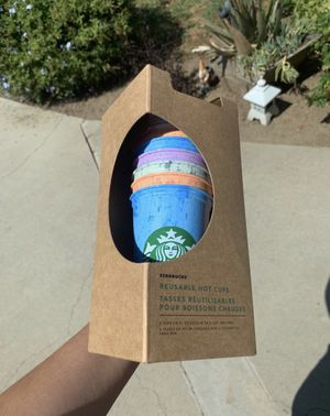 Starbucks hot reusable cup summer 2019 for Sale in Los Angeles, CA