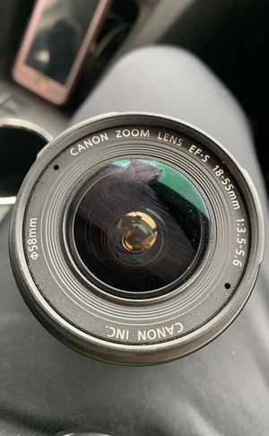 Canon EFS 18-55mm Lense for Sale in Arlington Heights, IL