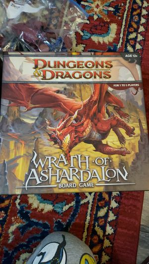 Wrath Of Ashardalon Board Game for Sale in Tooele, UT