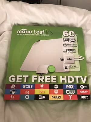 Brand New Mohu Leaf Fifty TV antenna for Sale in Los Angeles, CA