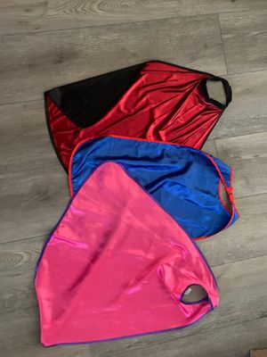 3 Kids Capes for dress up/costume for Sale in Phoenix, AZ