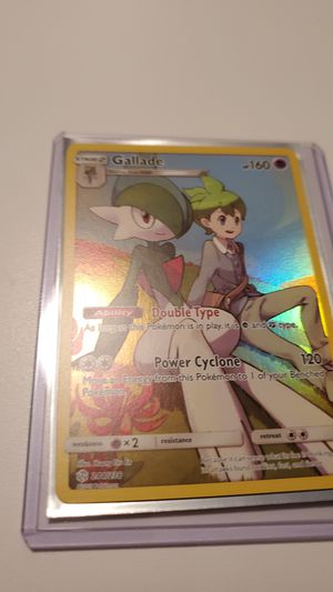 Gallade Secret Rare Character Card 244/236 for Sale in Riverton, VA