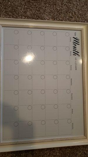 Dry erase calendar for Sale in Lakewood, CA
