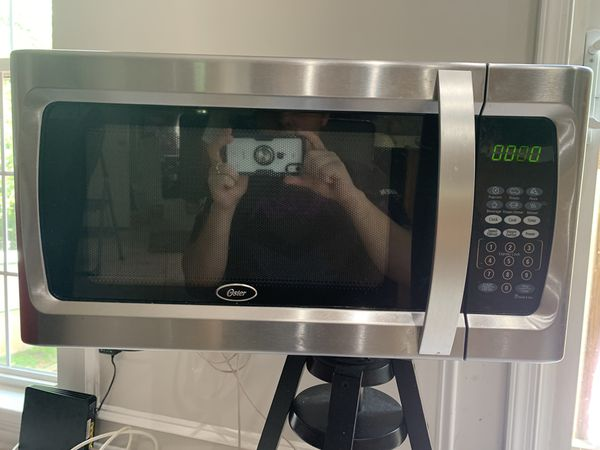 Microwave Oster good condition negotiable
