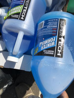 All season Summer and Winter windshield washer fluid for Sale in Fresno, CA