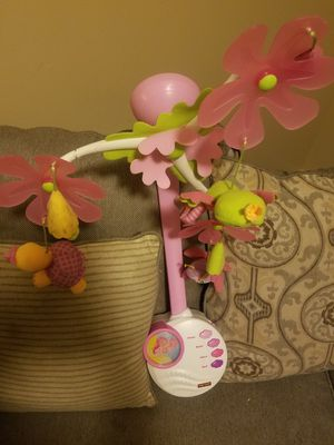 Crib Mobile for Baby Girl for Sale in Pevely, MO