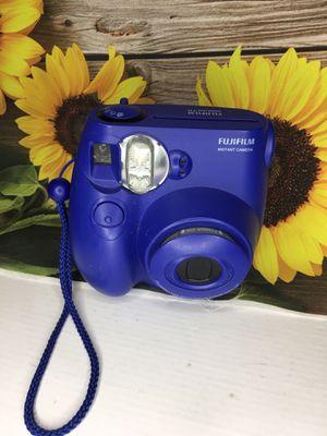 Navy Blue FujiFilm Instax Mini 7s for Sale in San Tan Valley, AZ