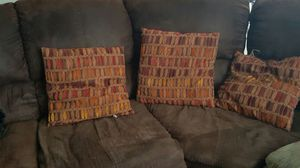 Microfiber sectional couch for Sale in Saint Robert, MO