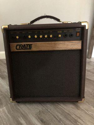 30 Watt Crate Acoustic Amplifier for Sale in Lynnwood, WA