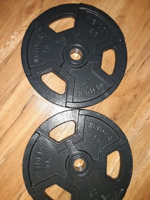 Brand new 25 lb plates for Sale in San Diego, CA
