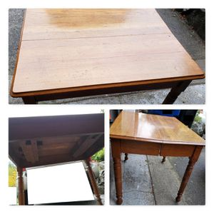 Free wood table for Sale in Seattle, WA