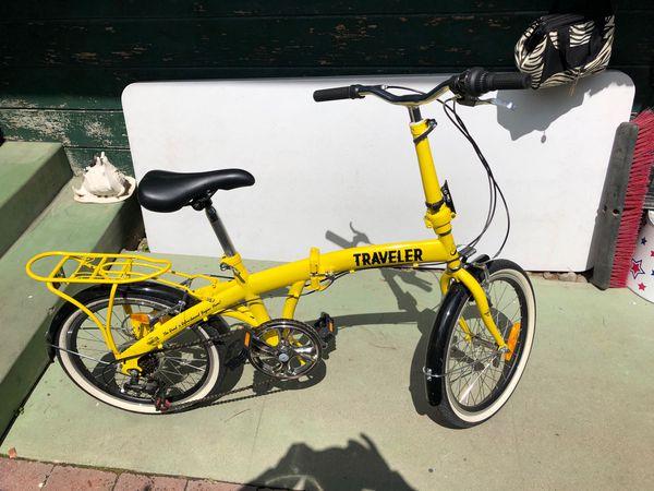Traveler folding bike