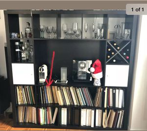 """Ikea Expedit TV shelving 73"""" x 73"""" for Sale in West Hollywood, CA"""