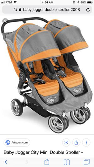Babyjogger city mini double stroller for Sale in Peachtree Corners, GA