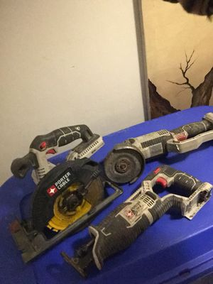 3 POWER TOOLS GREAT DEAL FIRST COME first serve for Sale in Trotwood, OH