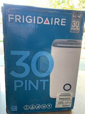 Frigidaire 30 pint dehumidifier for Sale in Poway, CA