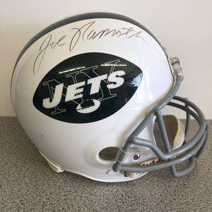 Authenticated Joe Namath NY Jets Helmet Pawn Shop Casa de Empeño for Sale in Vista, CA