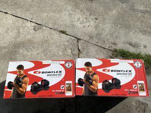 Bowflex dumbbells for Sale in San Diego, CA