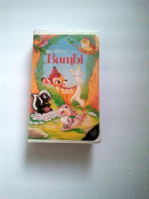 Bambi Disney Black Diamond VHS for Sale in Houston, TX