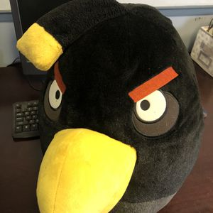 Angry Bird Giant Stuffed Black Angry Bird for Sale in Griswold, CT