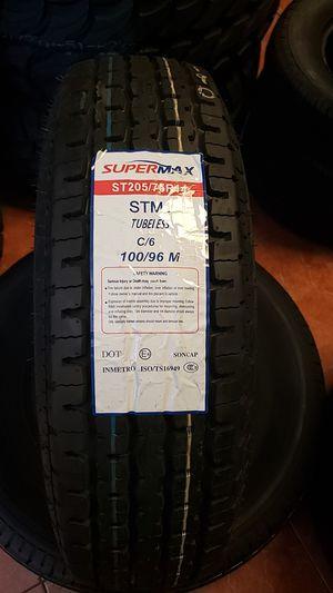 Supermax ST205/75R14 for Sale in Glendale, AZ