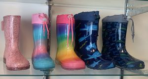 Rain boots for kids and toddlers girls and boys for Sale in South Gate, CA
