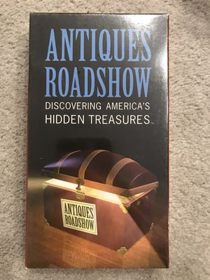 Antiques roadshow VHS tapes for Sale in Newton, MA