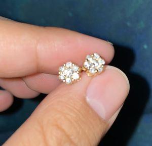 Real diamond earrings for Sale in Lakewood, CO