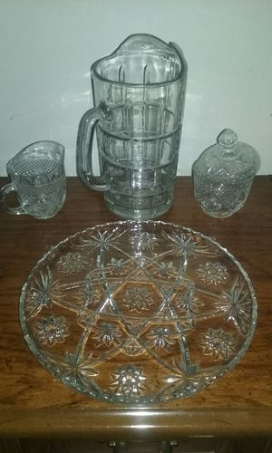 Set of crystal dishes for Sale in McLean, VA