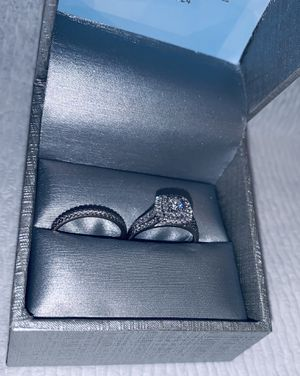 3/4 CT. T.W. Diamond 💍 Bridal Set in 14k White Gold for Sale in Hollywood, FL