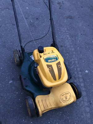Yard man self propelled lawn mower 65$ firm for Sale in Derby, CT