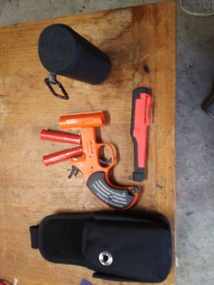Orion flare pistol Bluetooth speaker flashlight for Sale in Puyallup, WA