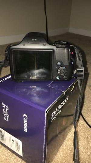 Canon PowerShot SX530 HS 16MP 50x Zoom Wi-Fi Digital Camera Black + 64GB Bundle for Sale in Washington, DC