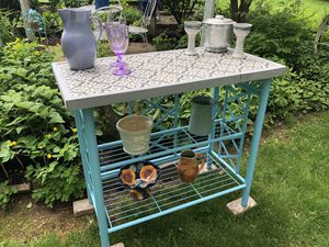 Outdoor bar, plant stand or potting bench for Sale in Beaver Falls, PA